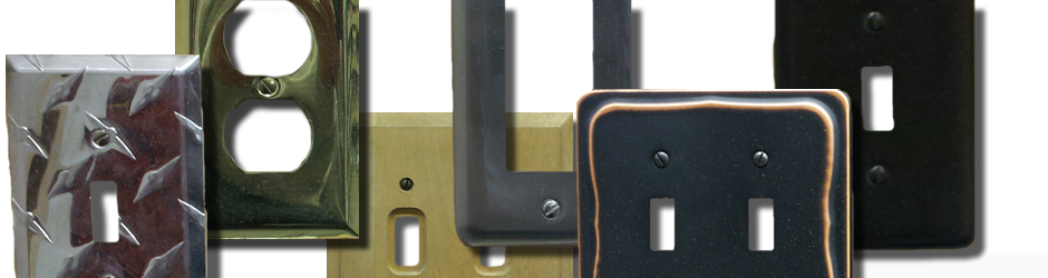 metal switch plates